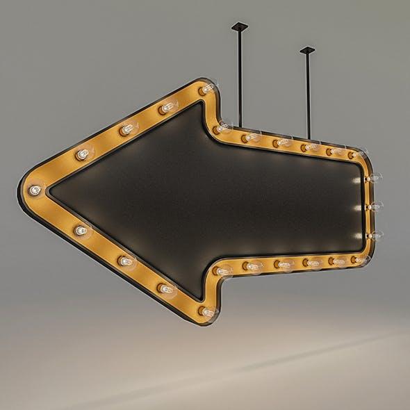 Light Bulb Loft Signage