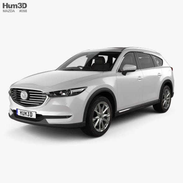 Mazda CX-8 with HQ interior 2017 - 3DOcean Item for Sale