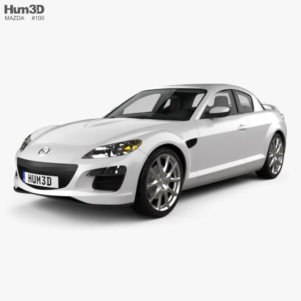 Mazda RX-8 with HQ interior 2008 - 3DOcean Item for Sale