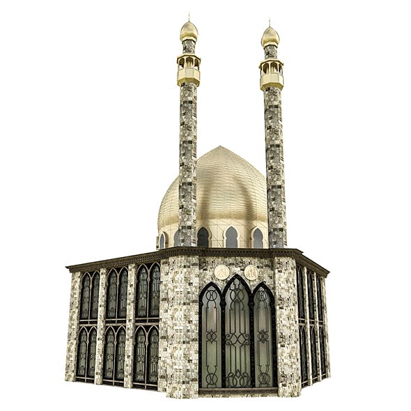 Arab Mosque - 3DOcean Item for Sale