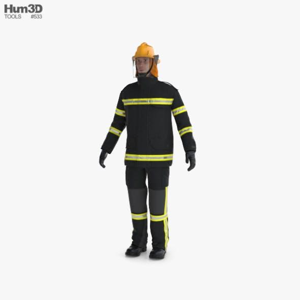 Firefighter - 3DOcean Item for Sale