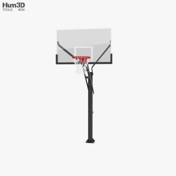 Flextreme Adjustable Basketball Hoop - 3DOcean Item for Sale