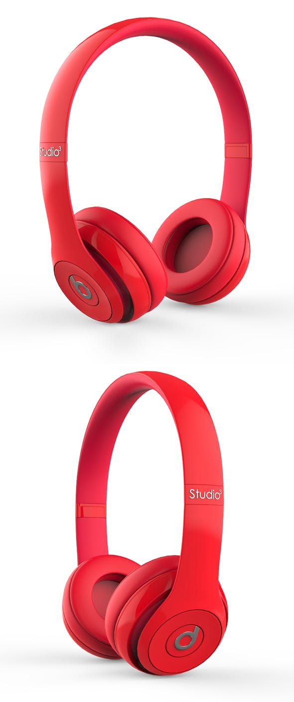 Beats Red - 3DOcean Item for Sale