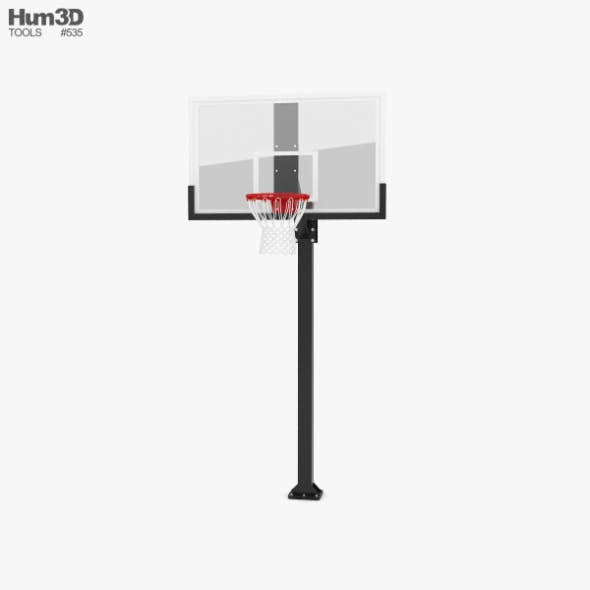 Hercules Fixed Basketball Hoop