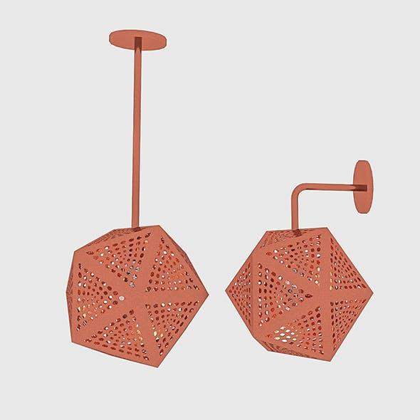 Bronze Loft Lamp Set - 3DOcean Item for Sale