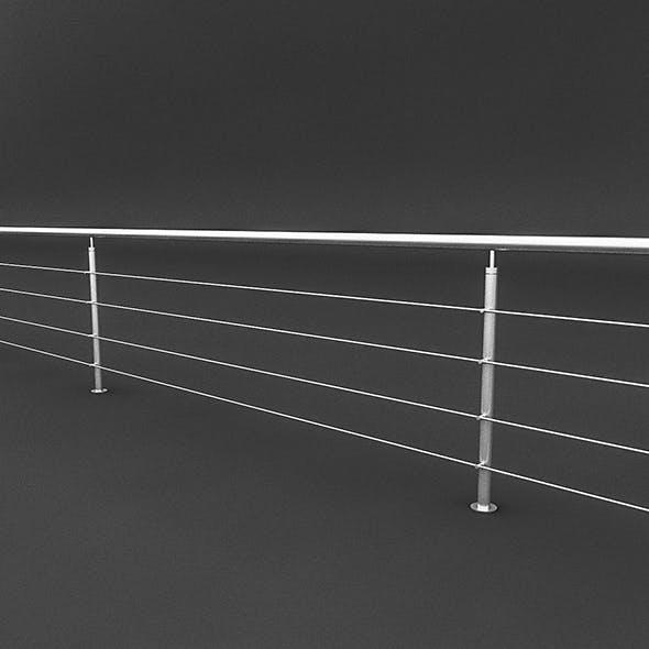Steel Railing - 3DOcean Item for Sale