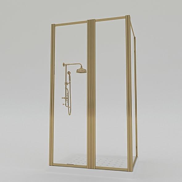 Shower Cabine - 3DOcean Item for Sale