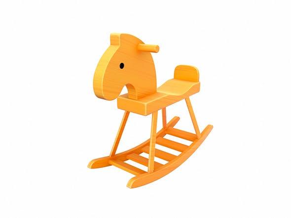 Rocking Horse - 3DOcean Item for Sale