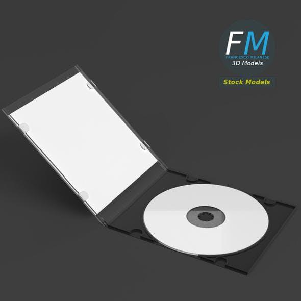 CD slim package mockup