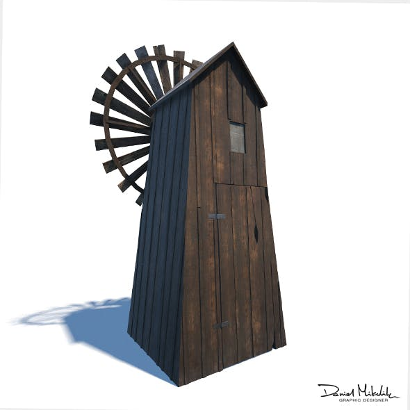 Windmill - Slav Architecture - 3DOcean Item for Sale
