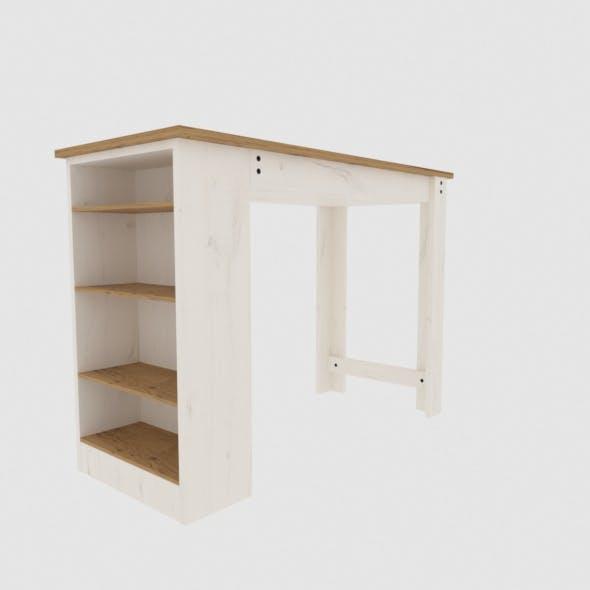 Modern wood bar - 3DOcean Item for Sale