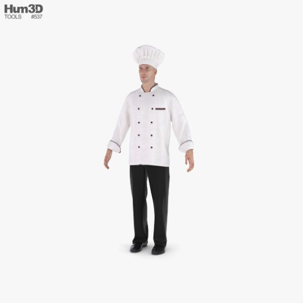 Chef - 3DOcean Item for Sale