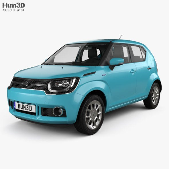 Suzuki Ignis with HQ interior 2016 - 3DOcean Item for Sale