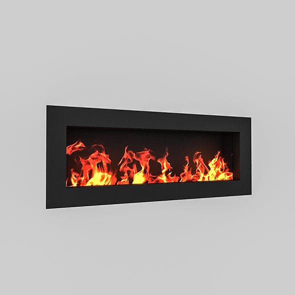 Fireplace 02 - 3DOcean Item for Sale