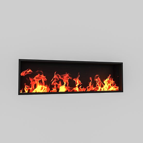 Fireplace 04 - 3DOcean Item for Sale