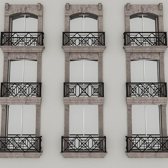 Window Frame 01 - 3DOcean Item for Sale