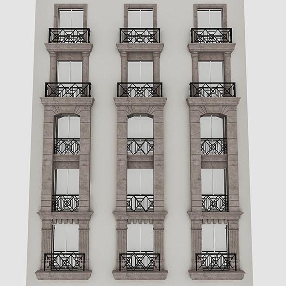 Window Frame 03 - 3DOcean Item for Sale