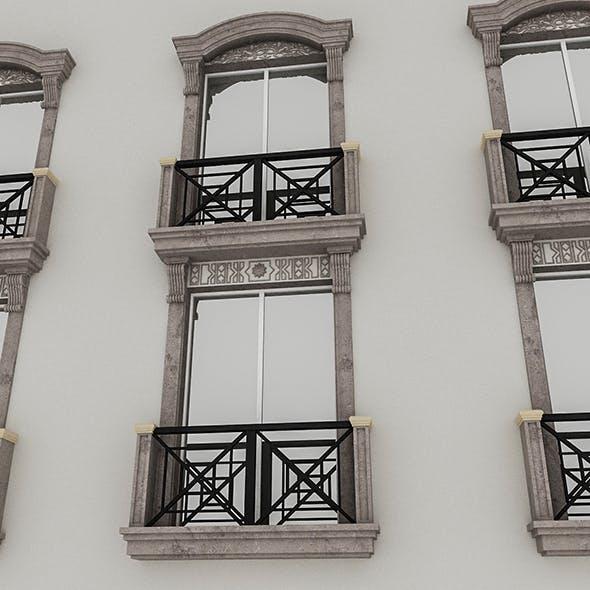 Window Frame 04 - 3DOcean Item for Sale