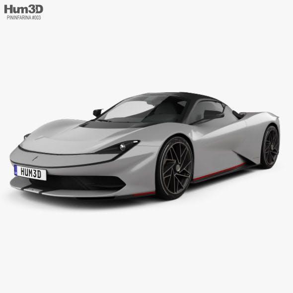 Pininfarina Battista 2020 - 3DOcean Item for Sale