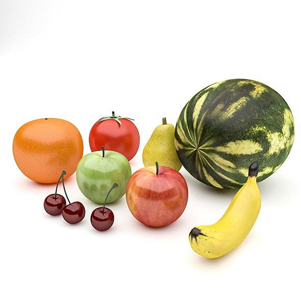 Fruits Pack - 3DOcean Item for Sale