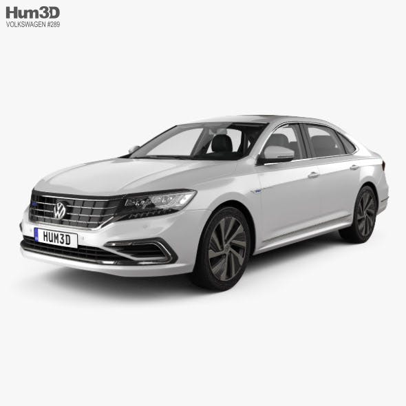 Volkswagen Passat PHEV CN-spec with HQ interior 2019 - 3DOcean Item for Sale