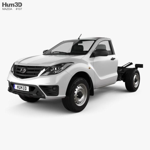 Mazda BT-50 Single Cab Chassis 2018 - 3DOcean Item for Sale