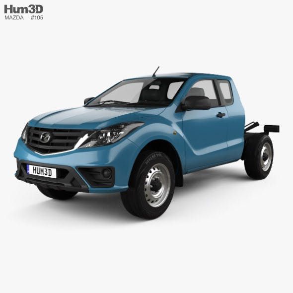 Mazda BT-50 Freestyle Cab Chassis 2018 - 3DOcean Item for Sale