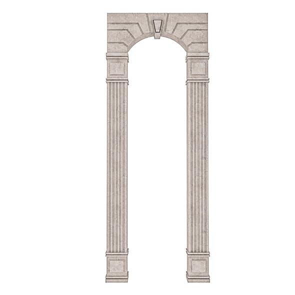Classic Building Entrance 7 - 3DOcean Item for Sale