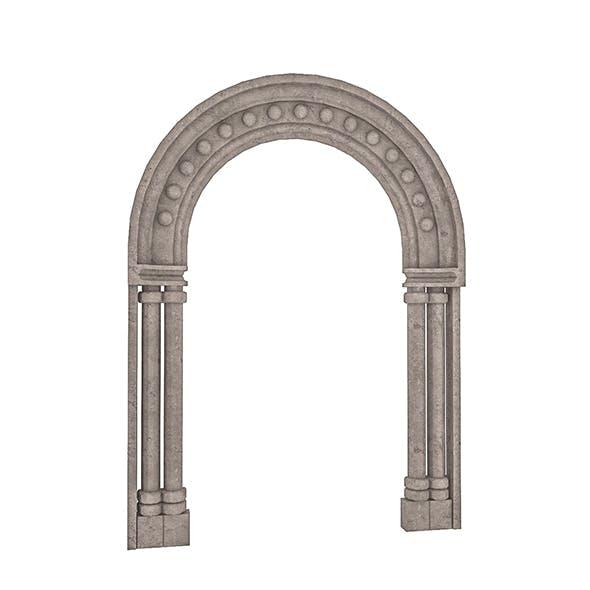 Classical Building Enterance 1 - 3DOcean Item for Sale