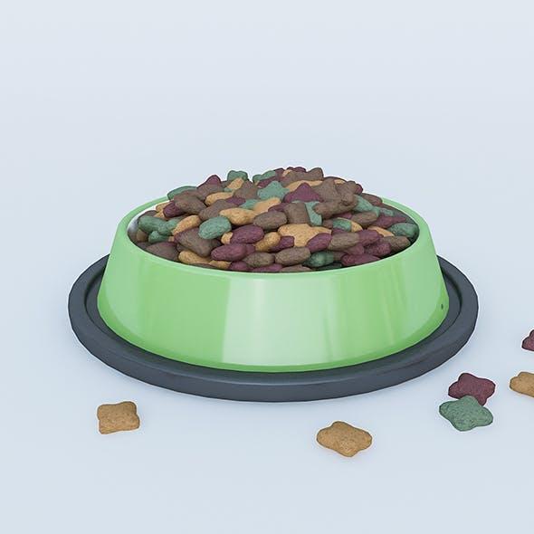 Cat & Dog Food Model - 3DOcean Item for Sale