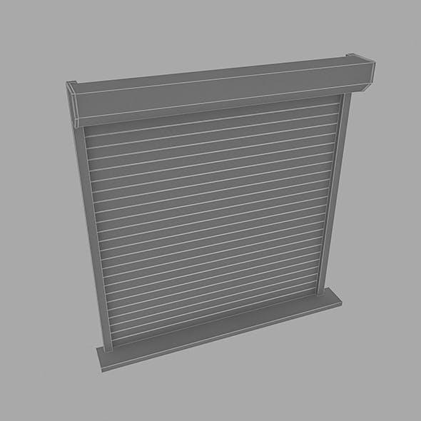 Shutter - 3DOcean Item for Sale