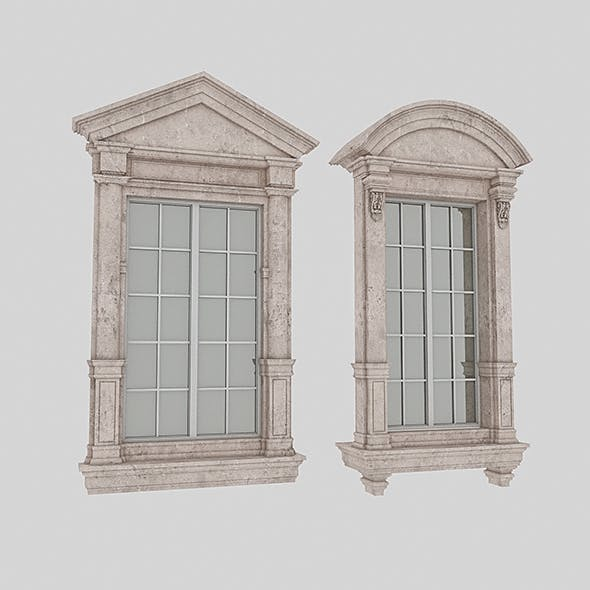 Classical Windows 2 - 3DOcean Item for Sale