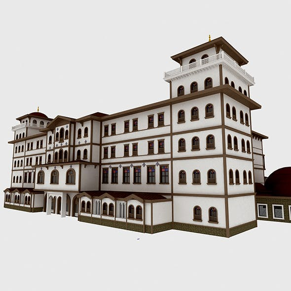 Classic Wood Hotel - 3DOcean Item for Sale