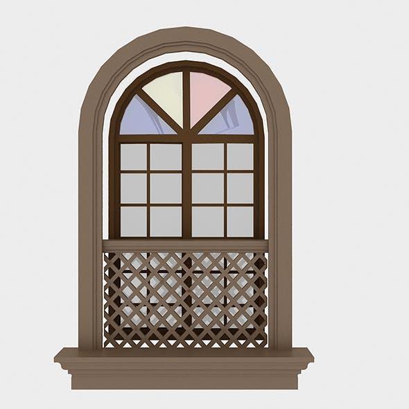Pavilion Window 6 - 3DOcean Item for Sale