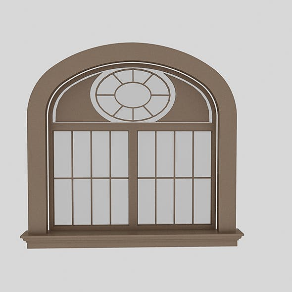 Pavilion Window 2 - 3DOcean Item for Sale