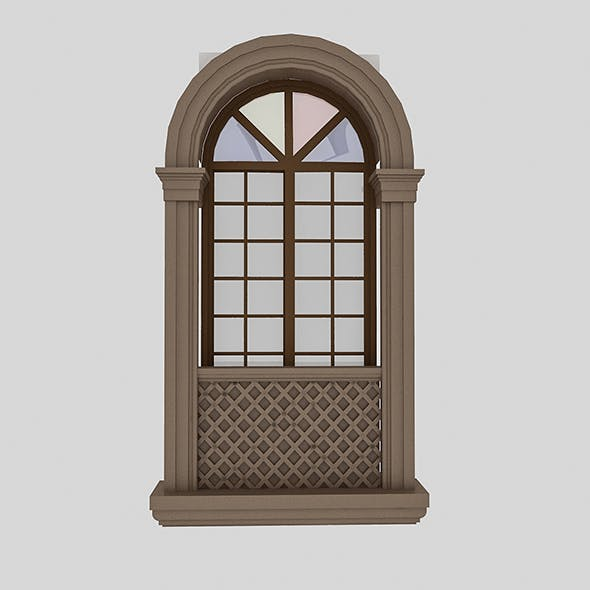 Pavilion Window - 3DOcean Item for Sale