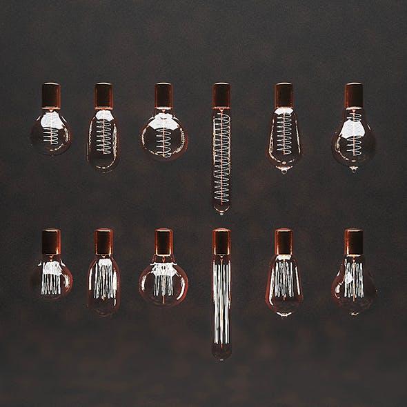 3D Filament Bulbs