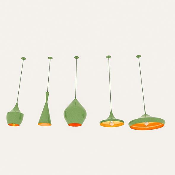 Loft Ceiling Lamp Collection - 3DOcean Item for Sale