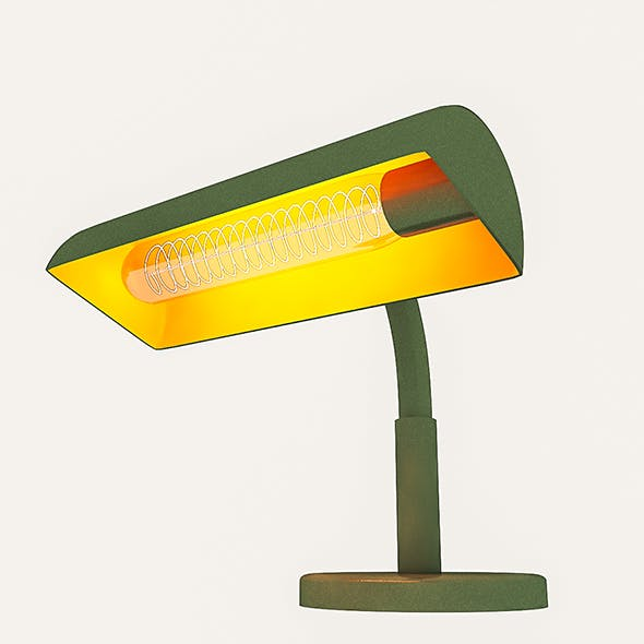 3D Table Lamp - 3DOcean Item for Sale