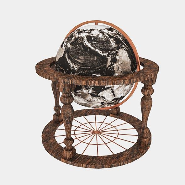 World Globe Decor - 3DOcean Item for Sale