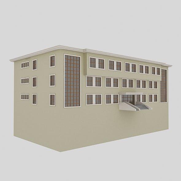 School - 3DOcean Item for Sale