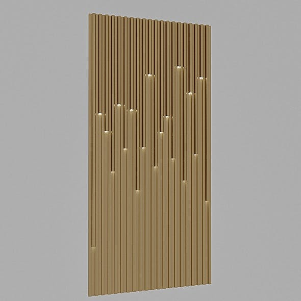 3D Lighting Wall Panel - 3DOcean Item for Sale
