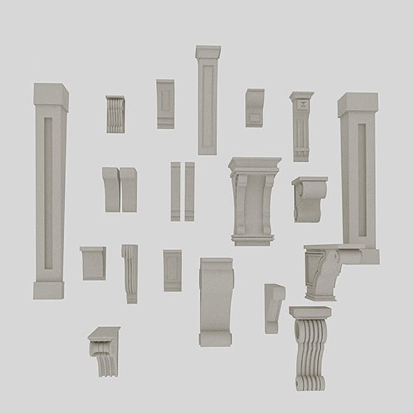 3D Molding Models - 3DOcean Item for Sale