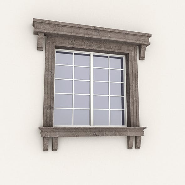 Window Frame 11 - 3DOcean Item for Sale