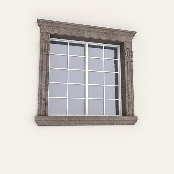 Window Frame 07 - 3DOcean Item for Sale