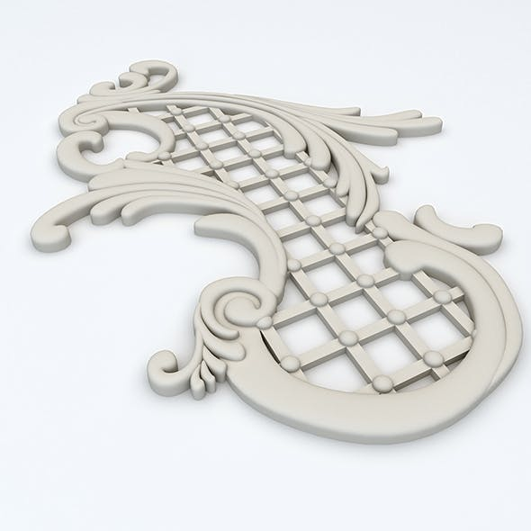 Plaster Decor - 3DOcean Item for Sale