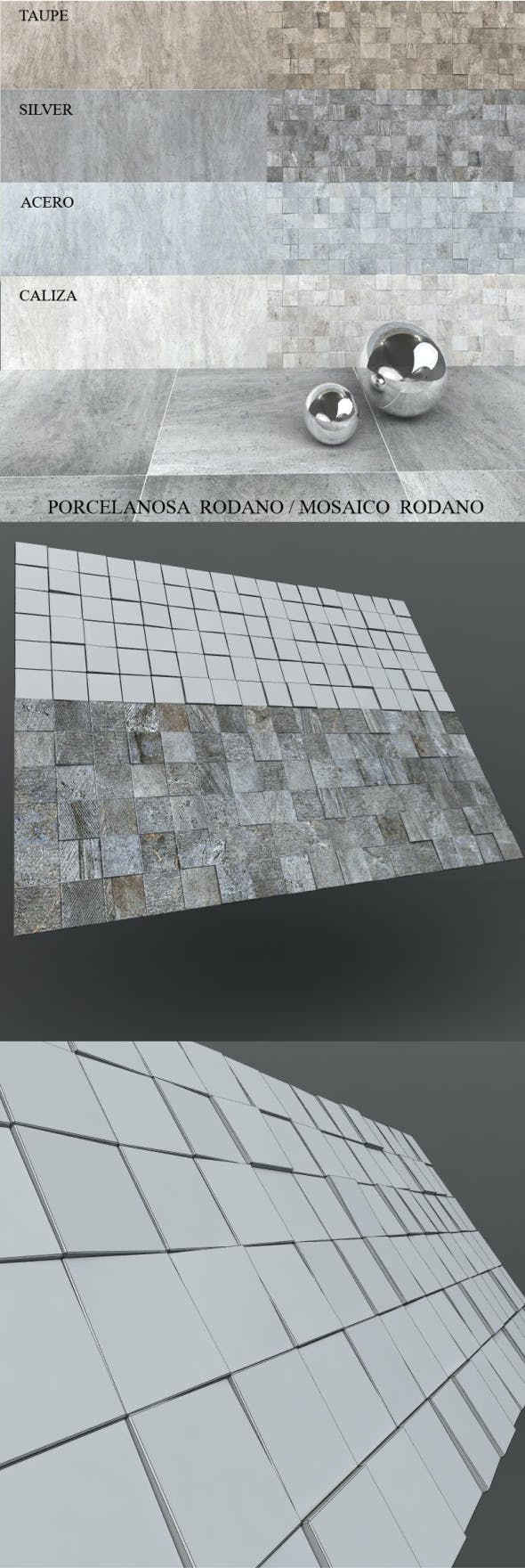 Mosaico Texture - 3DOcean Item for Sale