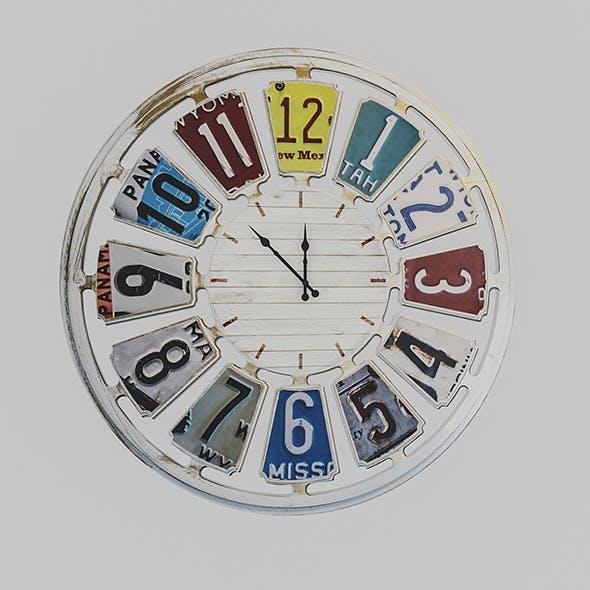 3D Loft Clock