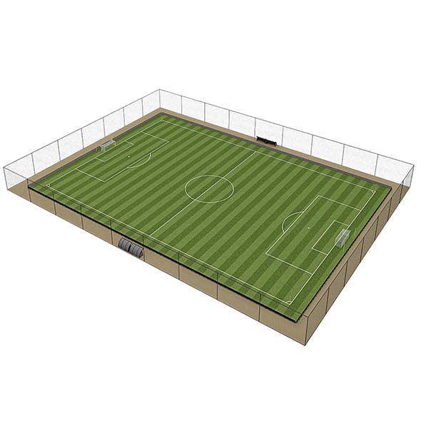 Football Field Pack - 3DOcean Item for Sale