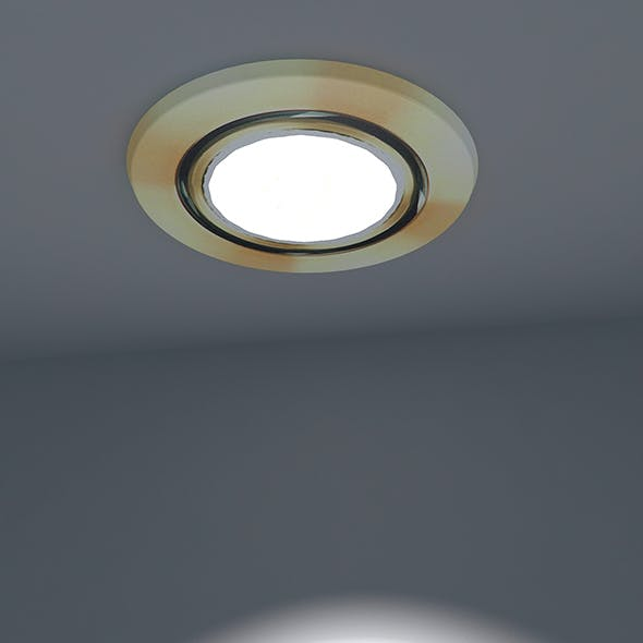 Spotlight Ready To Light - 3DOcean Item for Sale